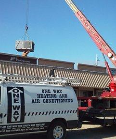 Oneway Heating Trucks