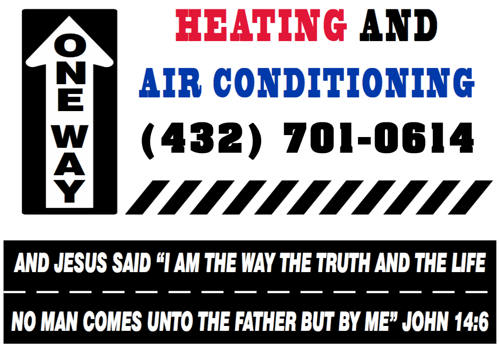 one way heating logo